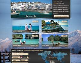#120 pentru Website Design for Travel Packages de către cnlbuy