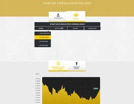 EmpUkbased tarafından Design a website mockup for displaying gold prices için no 30
