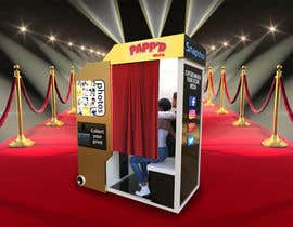 #23 for Design a 3d render of photobooth by miguelmanch