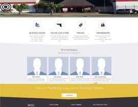 #12 untuk Design a Website Mockup for Shooting Range oleh rajeshdewangan21