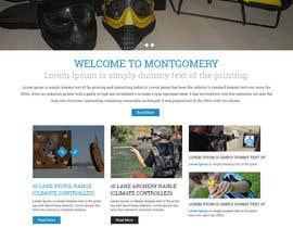 #15 untuk Design a Website Mockup for Shooting Range oleh syrwebdevelopmen