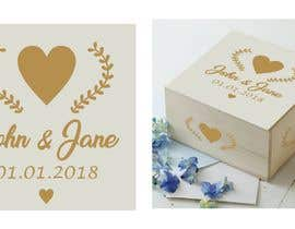 #8 for Wedding photo box - engraving design af ConceptGRAPHIC