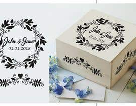 #11 for Wedding photo box - engraving design af ConceptGRAPHIC