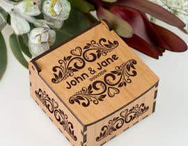#4 for Wedding photo box - engraving design af engabousaleh