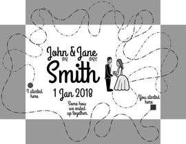 #25 for Wedding photo box - engraving design af verbalshadow