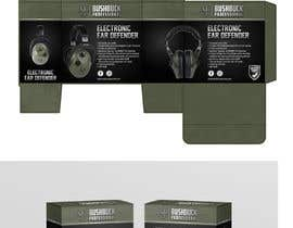 Nro 8 kilpailuun Design packaging for a electronic ear defender. käyttäjältä ghielzact