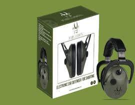 Nro 5 kilpailuun Design packaging for a electronic ear defender. käyttäjältä rrtvirus