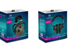 Nro 13 kilpailuun Design packaging for a electronic ear defender. käyttäjältä shinydesign6