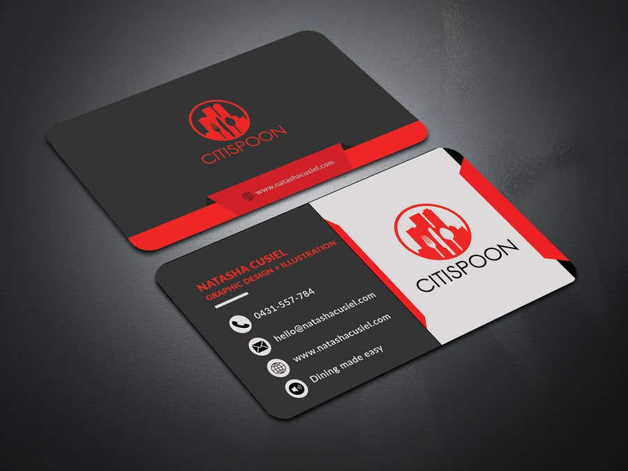 Entry #61 by ripunath for Design modern business Card, double-sided ...
