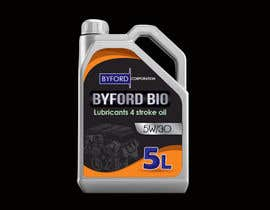#15 untuk Product Label required for Bio Based Motor oil oleh BlaBlaBD