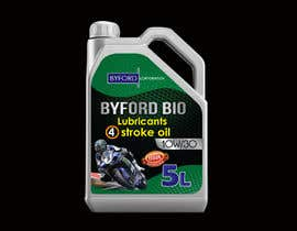 #68 untuk Product Label required for Bio Based Motor oil oleh BlaBlaBD