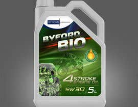 #58 untuk Product Label required for Bio Based Motor oil oleh DEZIGNWAY