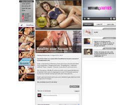 nº 22 pour Website Design for Scandalbeauties par todorut