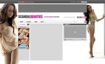 Bài tham dự #21 về Graphic Design cho cuộc thi Website Design for Scandalbeauties