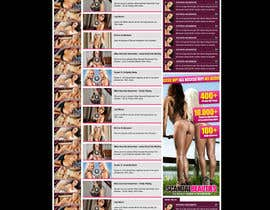 nº 8 pour Website Design for Scandalbeauties par danangm