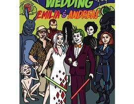 #41 for Nerdy Artists for wedding invitations! by LilithBlack
