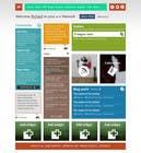 Graphic Design Inscrição do Concurso Nº12 para Website Design for a Artist Social Network