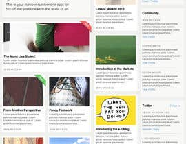 #38 for Website Design for a Artist Social Network af davidgraeme