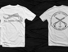 #22 untuk Design for a Fishing Shirt oleh NonverbDaza