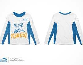#15 untuk Design for a Fishing Shirt oleh Nazriv
