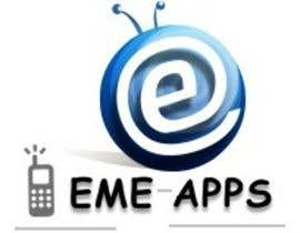 #371 para Logo Design for eme-apps por umasiva2010