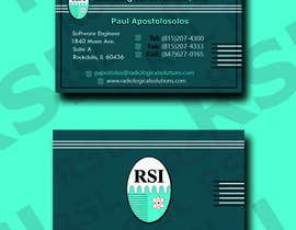 #613 for Design a business card by AyaAlmaken