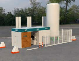 #24 para 3D design of a LCNG station for Energy Company por mdigitally