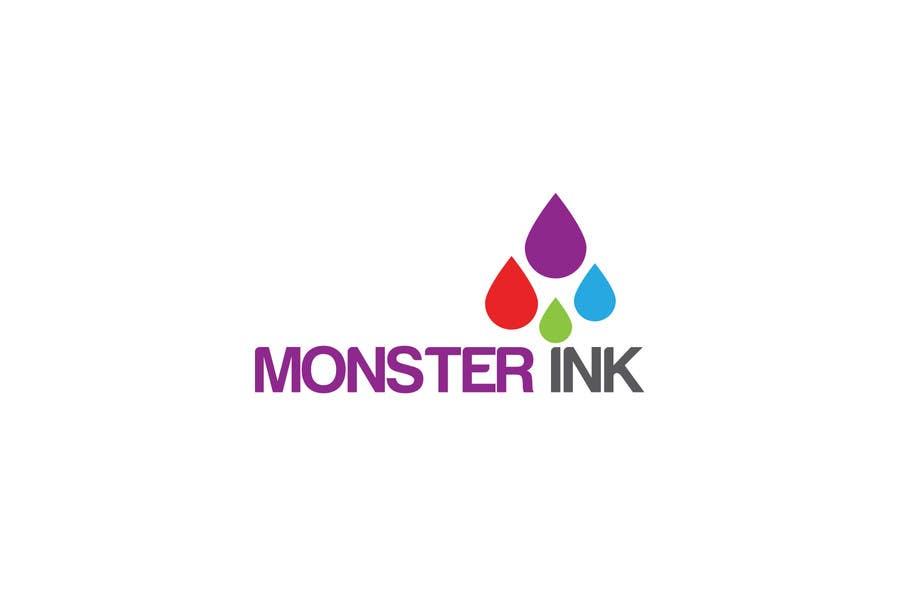 Inscrição nº                                         196                                      do Concurso para                                         Logo Design for Monster Ink