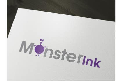 #10 para Logo Design for Monster Ink por iffikhan