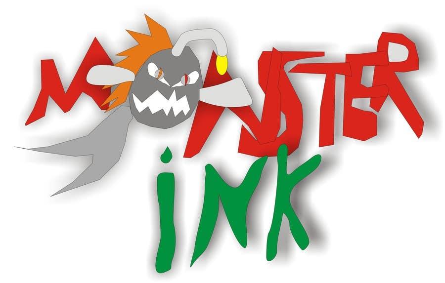 Inscrição nº                                         138                                      do Concurso para                                         Logo Design for Monster Ink