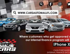 #9 for Create a promotion ad. artwork for Cars auto mall Florida af parulgupta549