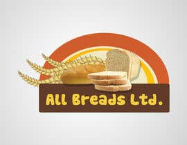 #104 para Logo Design for All Breads Limited por macropaks