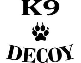 "#3 for I need a design that will be used for a tshirt. The logo should be in rhe center on the front side of the shirt   I need the word ""Decoy""  designed using the equipment used foe Decoying foe woeking k9's by AlleyKatz8"