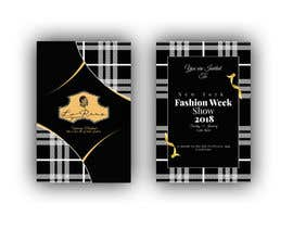 #96 cho Design Invitation Letter to New Fashion Week Show bởi siambd014