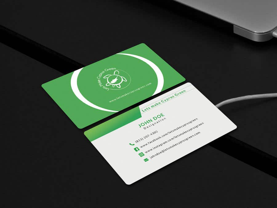 Entry #55 by sayanmoin for Business Card Design For Eco Friendly ...