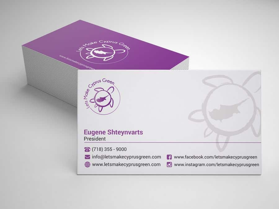 Entry 3 by sabbir2018 for business card design for eco friendly contest entry 3 for business card design for eco friendly import company reheart Images