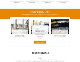 Nro 7 kilpailuun Design a Website Mockup for Solar Protection - Homepage Only käyttäjältä saidesigner87