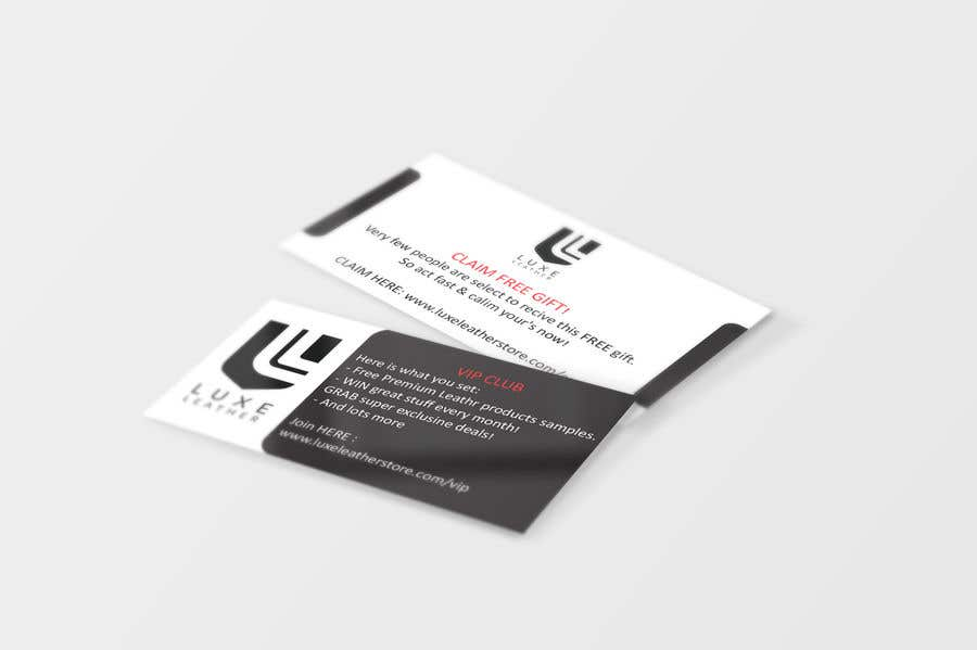 Entry #1 by Zeinab91 for Design some Business Card size package ...