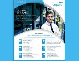 #60 per Design a one page sales brochure for Ghekko - a technology company da ahmedabdelrahim1