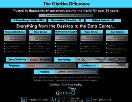 #66 per Design a one page sales brochure for Ghekko - a technology company da sayyed913umair