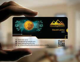 #81 для Design Business Cards for Bitcoin Company від kreativedhir