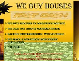 Nro 16 kilpailuun Design a Flyer for Sell my house fast käyttäjältä NxtNotion