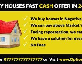 Nro 5 kilpailuun Design a Flyer for Sell my house fast käyttäjältä ideafactory421