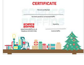 #19 cho Christmas Certificates bởi grafiktopia