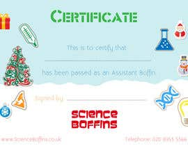 #24 cho Christmas Certificates bởi rijulg