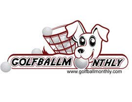 #53 for Logo Design for golfballmonthly.com af royind