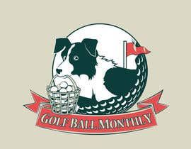 #116 for Logo Design for golfballmonthly.com af OtherWorldMedia