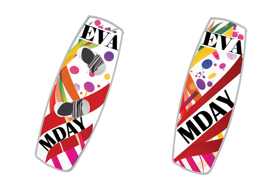 Contest Entry #22 for Graphic Design for MDAY KITEBOARDS www.m-day.ru