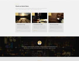#36 for Create a website design for a whiskey bar by Batto14