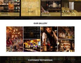 #38 for Create a website design for a whiskey bar by WebCraft111